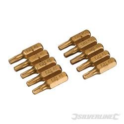 Embouts dorée T20 lot 10